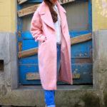 Candy coat キャンディピンクのコートのコート