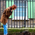 Lost in… London. Neoprene, the coat and the cat