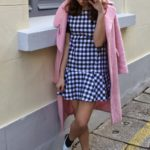 Chess dress candy coat