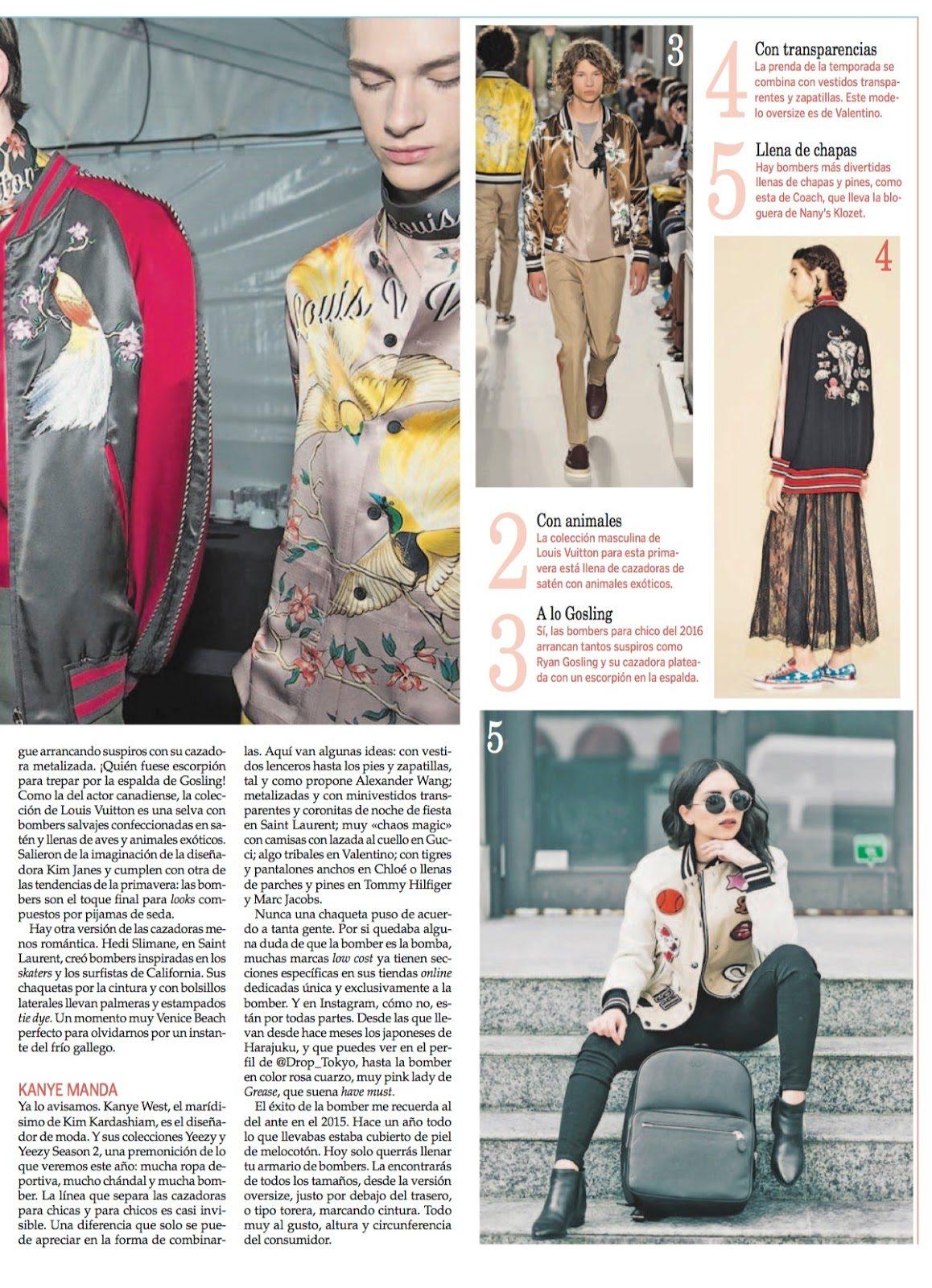 reportaje revista YES La Voz de Galicia patricia garcía