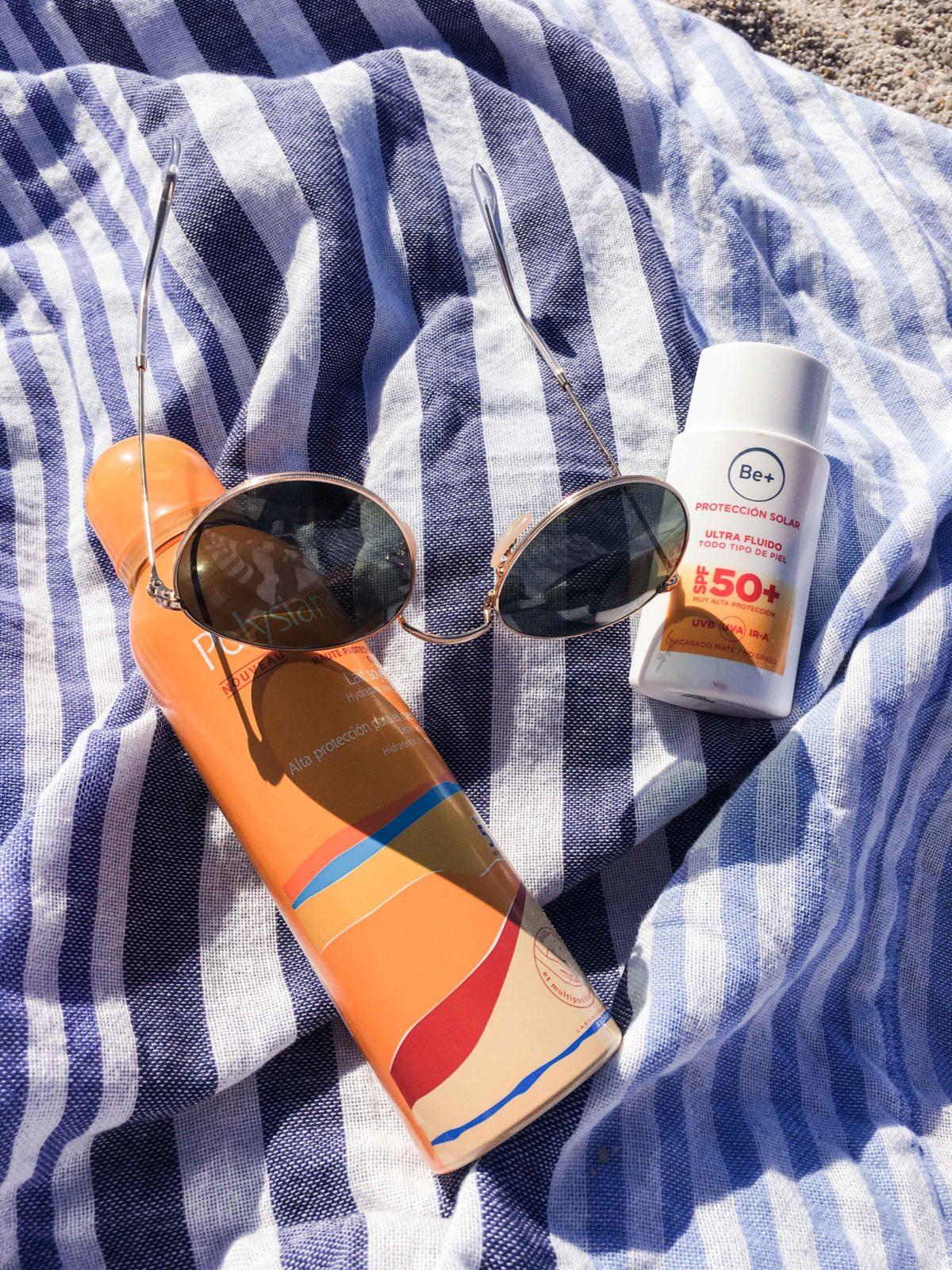 disfrutando del sol consentidiño