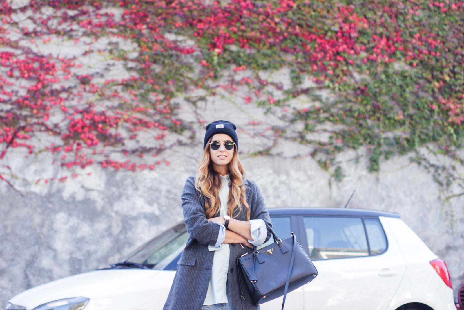 blazer_oversize_falda_vaquera_camisa_masculina_gorro_beanie_botas_moteras_tendencias_trends_2016_street_style_donkeycool-27
