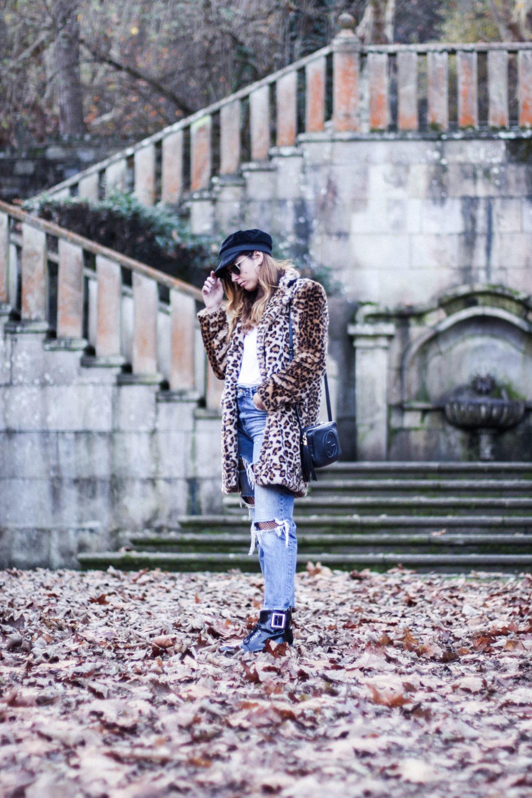 abrigo de leopardo leopard coat