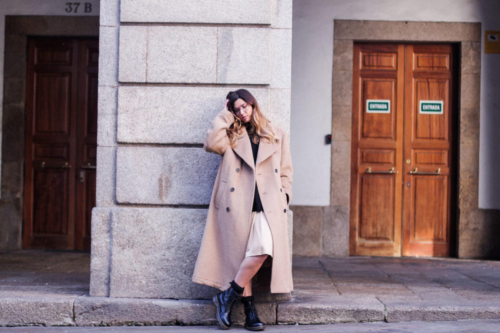 gafas maxi abrigo abrigo masculino