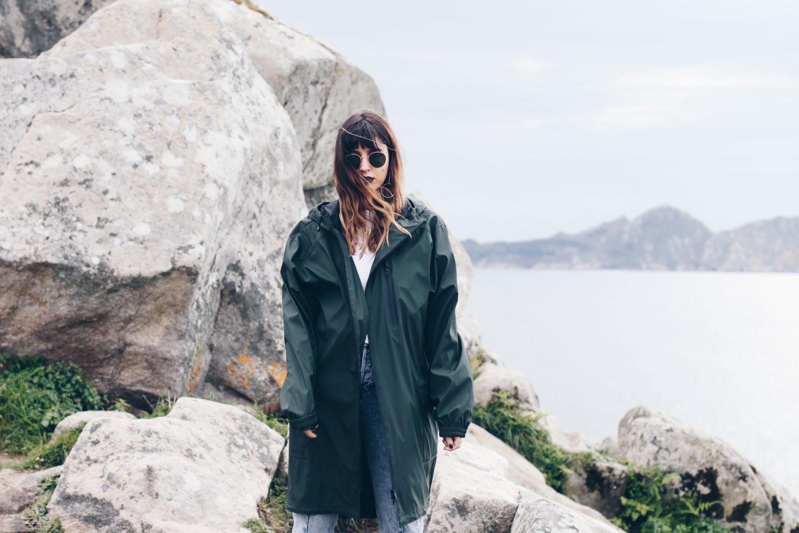 chubasquero rain coat zara