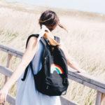 Vans girls: una mochila con arcoíris