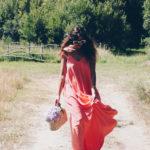 Cuando lo único que necesitas es un vestido coral