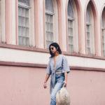 September issue: maxi pendientes, crop top, jeans y mis Dr. Martens