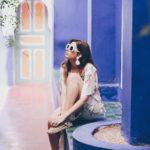 Lost in… Marrakech. Un vestido de flores en el Jardín Majorelle