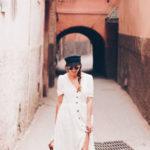 Lost in… Marrakech. El vestido con botones